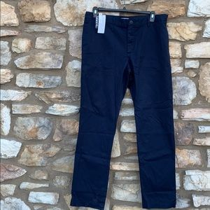 Lacoste navy blue chino pants, 38
